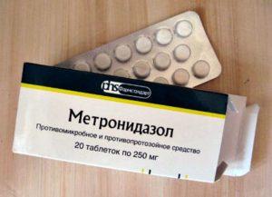 Метронидазол таблетки при гингивите